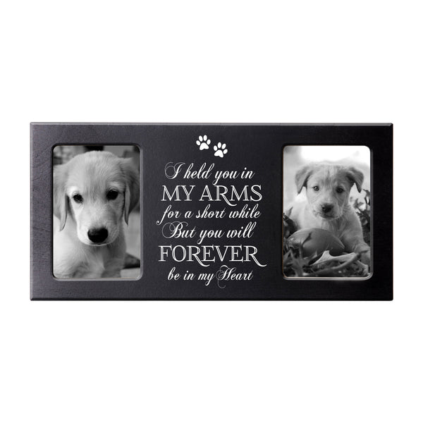 Words of Condolences Message Quotes for Loss of a Pet grieving keepsakes Bereavement Sympathy Memorial Picture Frame