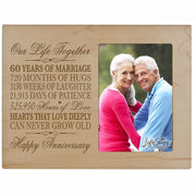 60th Anniversary Photo Frame - Our Life Together