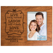 valentine's day gift frame picture cherry