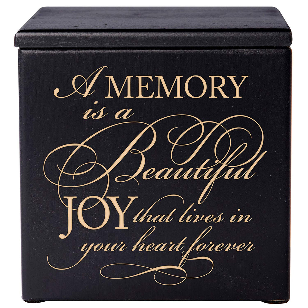 Cremation Urn For Human Ashes Small Memorial Keepsake Box 17 cubic inches