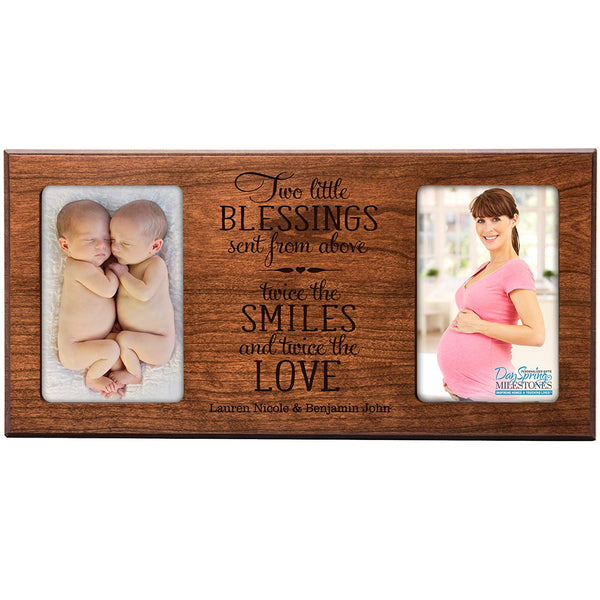 Twins Photo Frame - Personalized