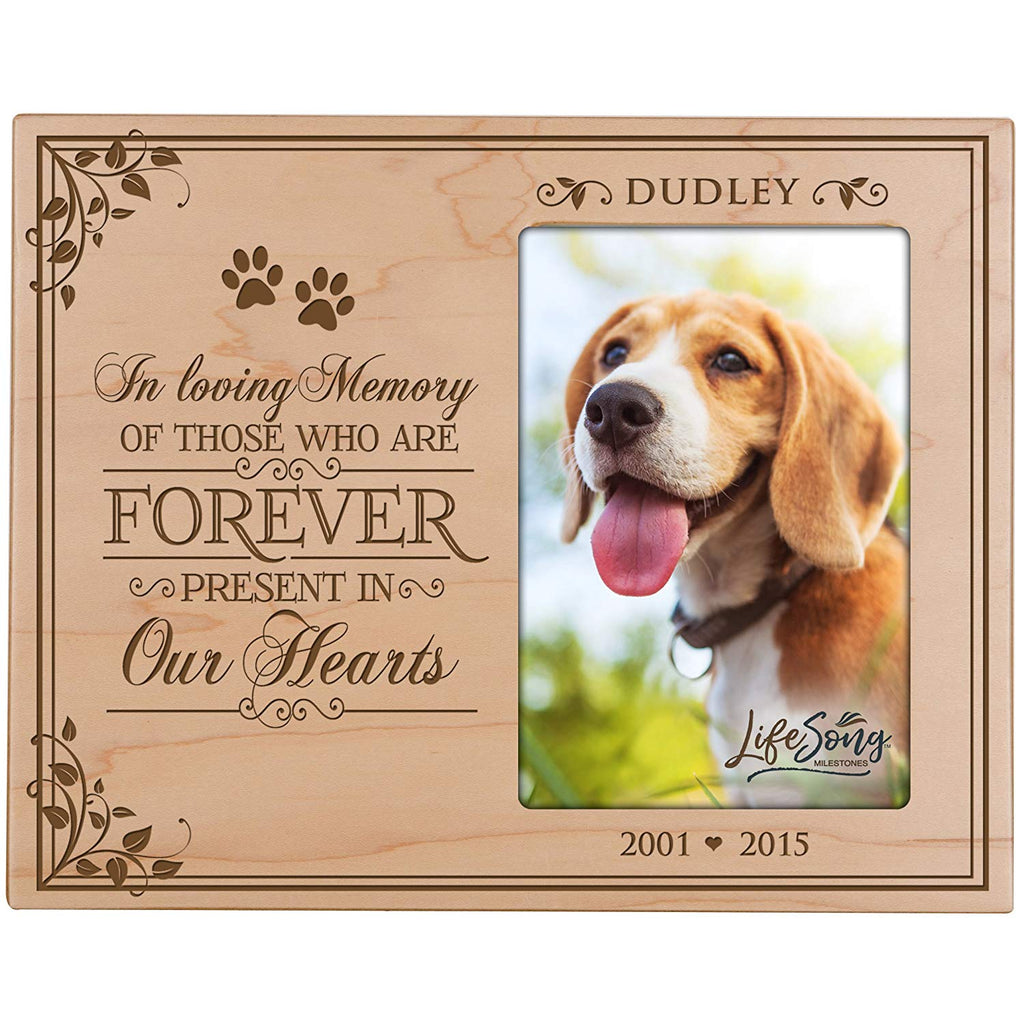 Lifesong Milestones Personalized Pet Memorial Gift Sympathy Photo Fra