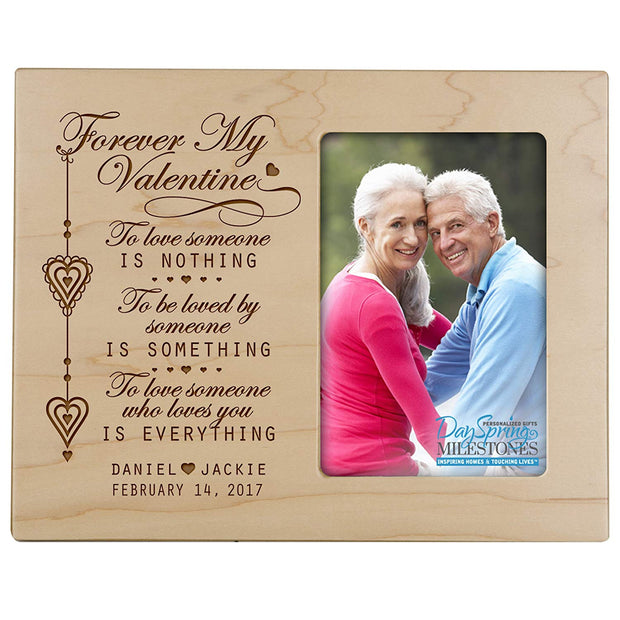 valentine's gift anniversary frame picture photo maple