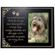 Wooden Memorial 8x10 Picture Frame for Pet holds 4x6 photo Those Who We Love
