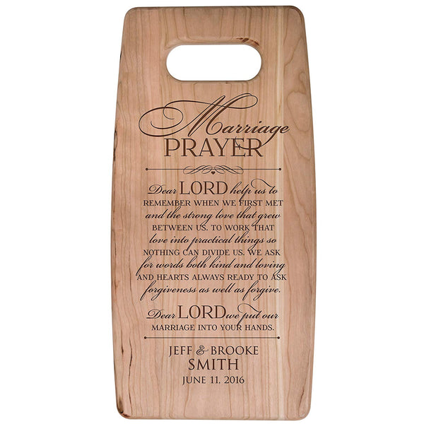 Cherry Cutting Board - Marriage Prayer