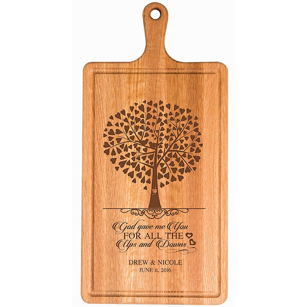 Cherry Cutting Board - God gave me You...