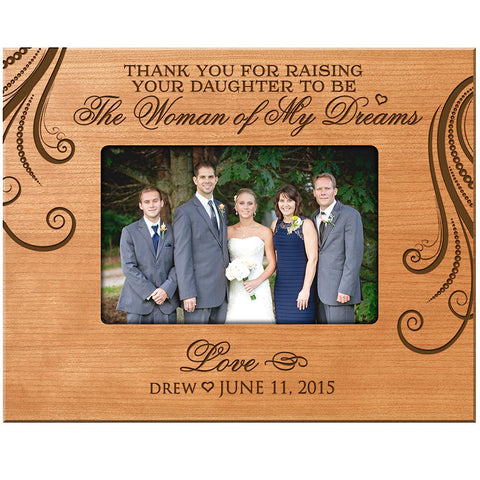Personalized Parent Wedding Frame Gift