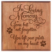 Cherry urn pet ashes cremation sympathy memorial animal