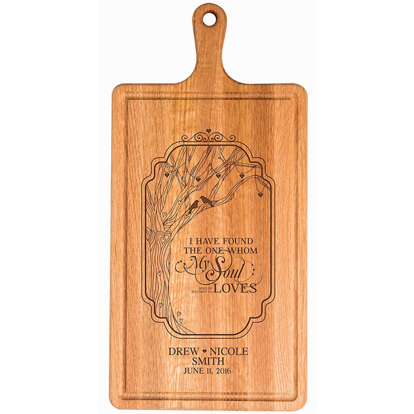 Personalized Family Wedding Cutting Board Gift