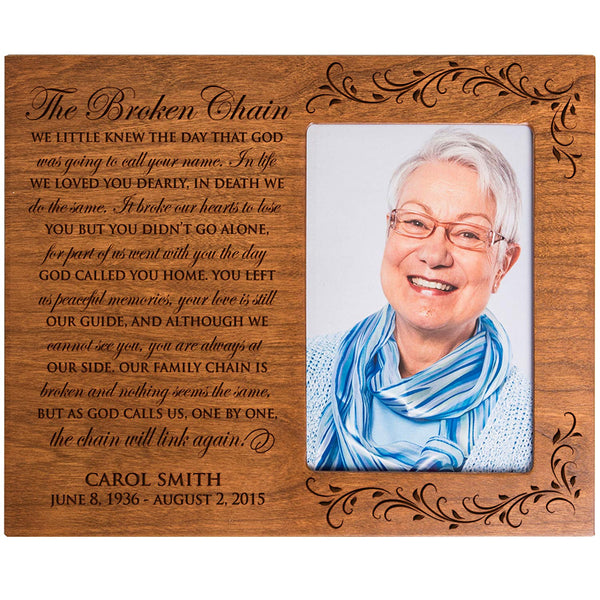 Personalized 4x6 Memorial Wall Plaque
