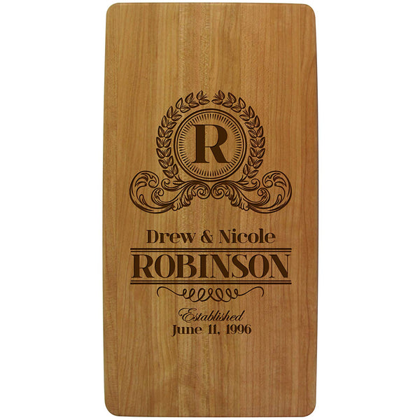 Personalized Wedding Anniversary Cutting Boards