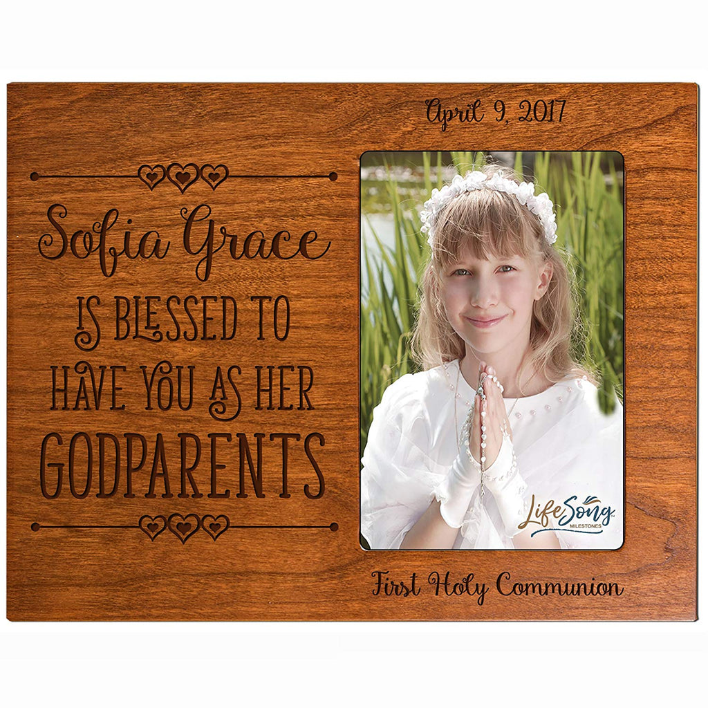 Personalized Godparent Gifts Godmother Godfather gifts from Godchild ...