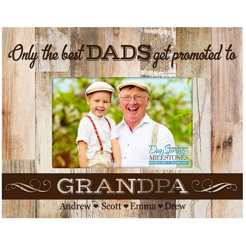 Personalized Father's Day Photo Frame Gift