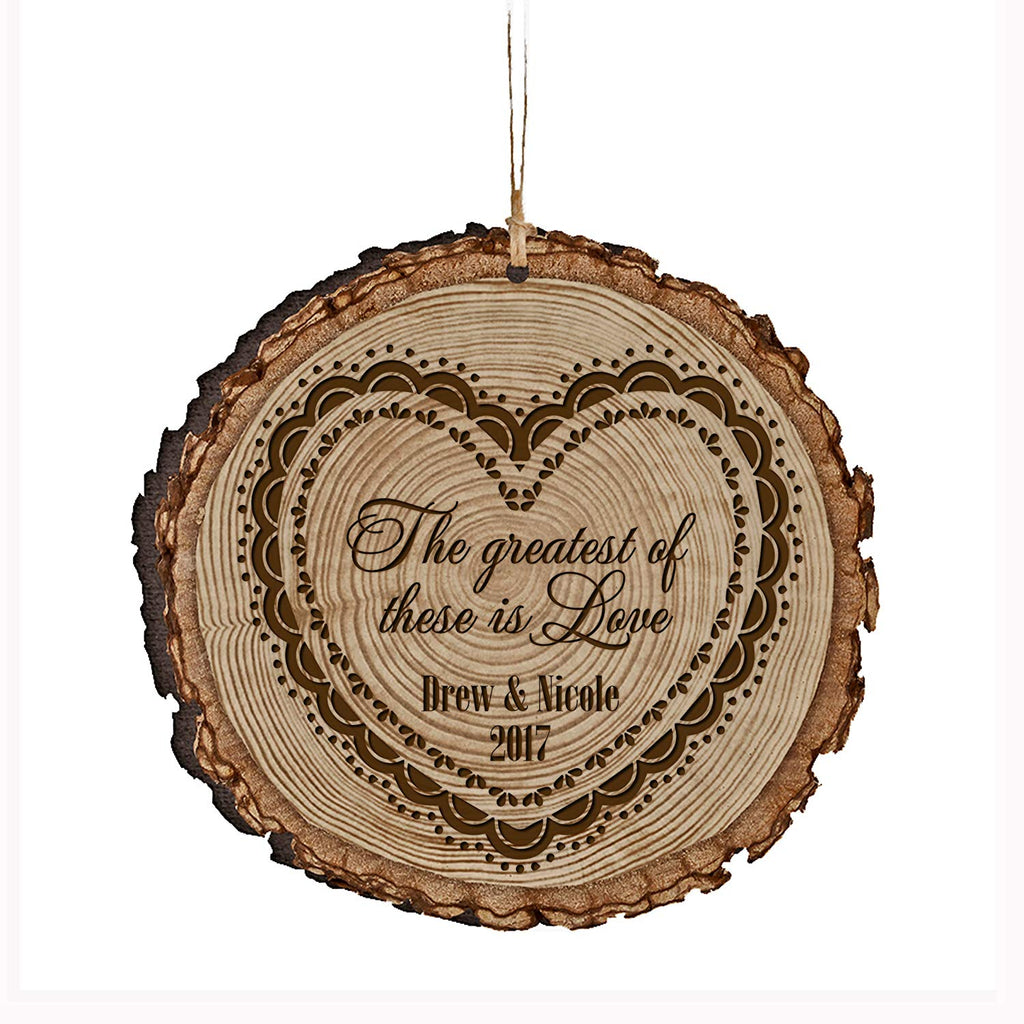 ... Personalized Valentine's Day Gifts Ornament Custom Engraved Housewarming gift ideas for him her couple All of ...