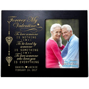 valentine's gift anniversary frame picture photo black