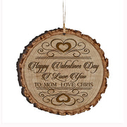 Personalized Valentine's Day Ornaments Happy Valentine's Day