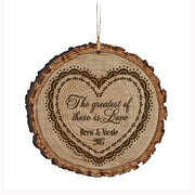 Personalized Valentine's Day Ornaments The Greatest Of These