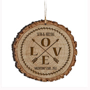 Personalized Valentine's Day Ornaments