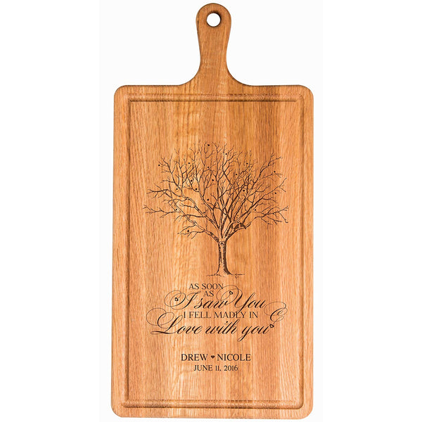 Cherry Cutting Board - Fell Madly in Love...