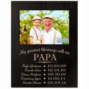 Personalized Gift for Papa Picture Frame - Papa