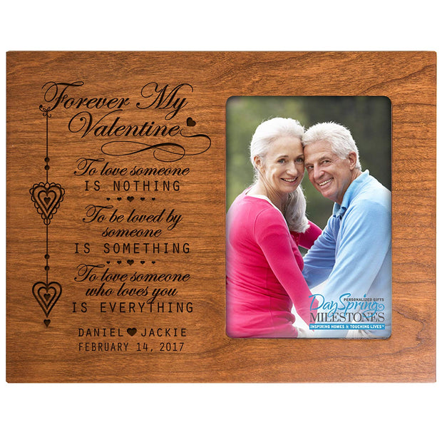 valentine's gift anniversary frame picture photo cherry