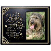 Pet Memorial 4x6 Photo Frame