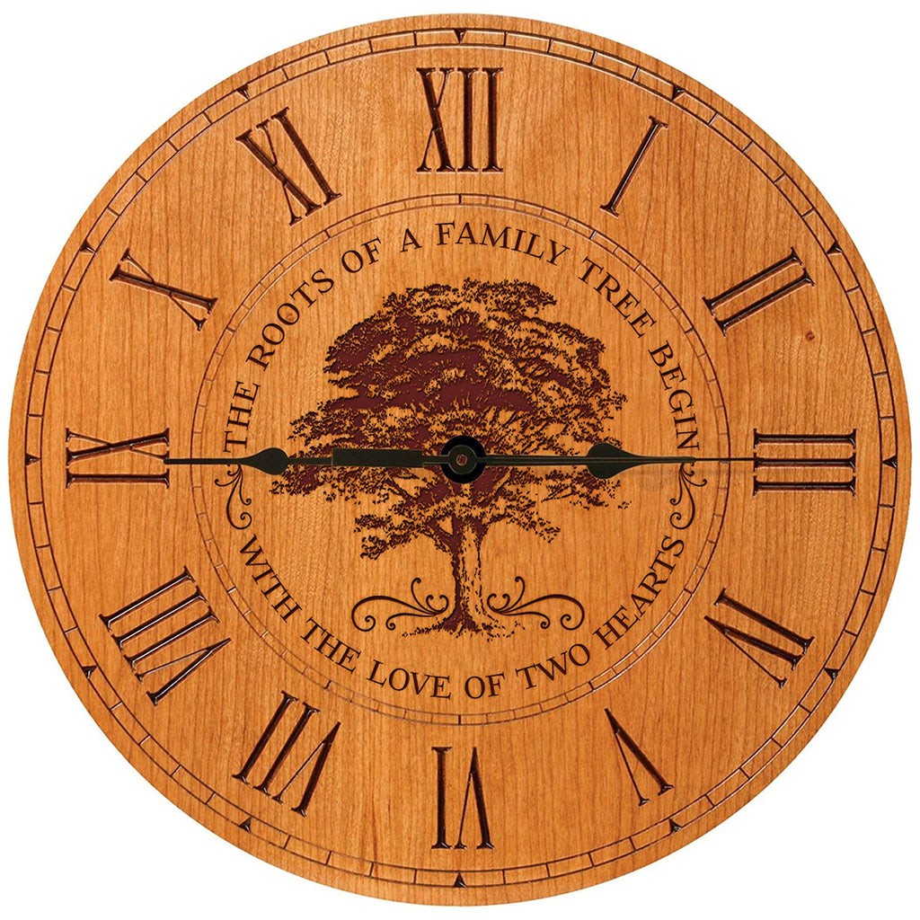 Wedding Anniversary Gifts For Parents Modern Decorative Wall Clocks