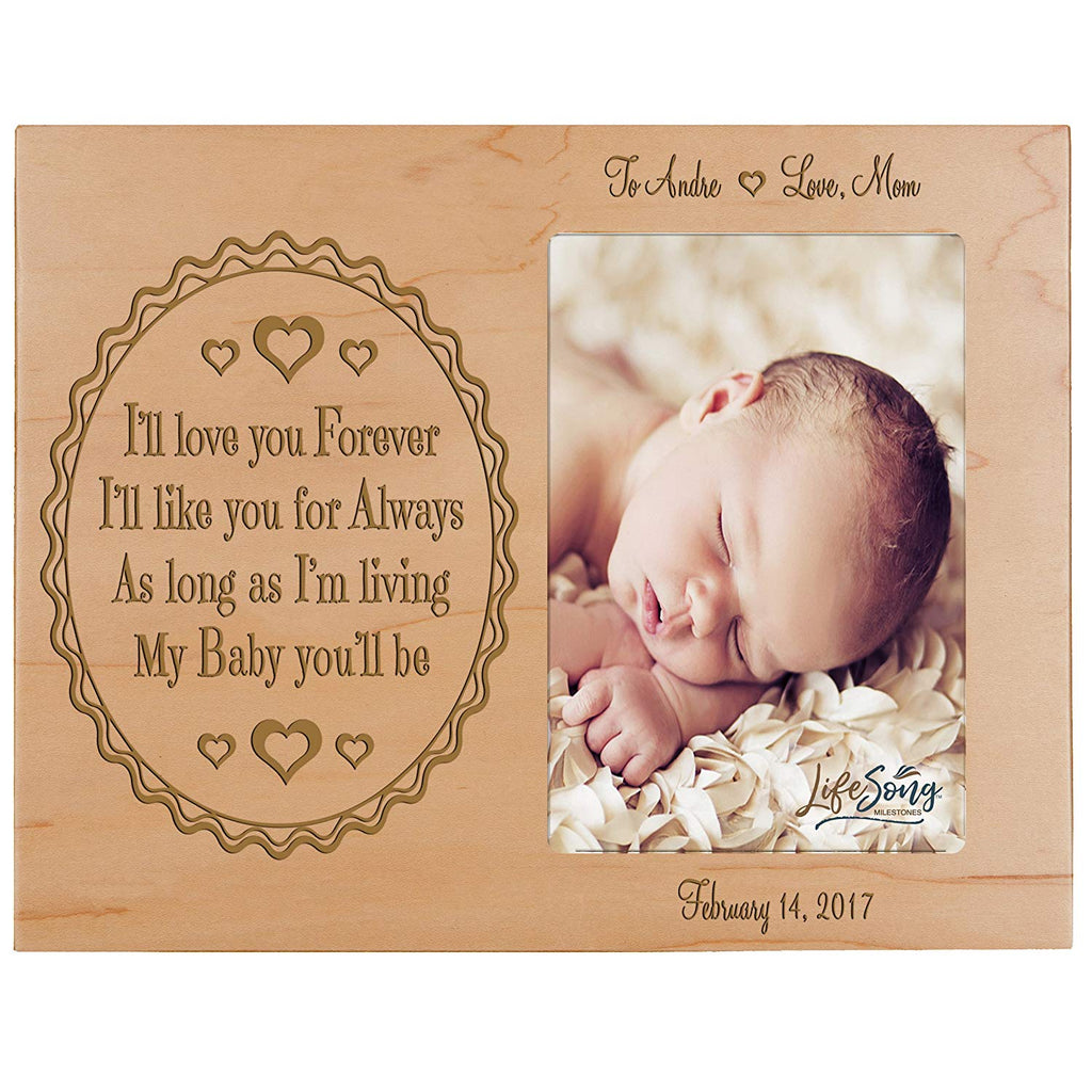 Personalized Valentine\'s Day Photo Frame Gift Custom Engraved ideas ...
