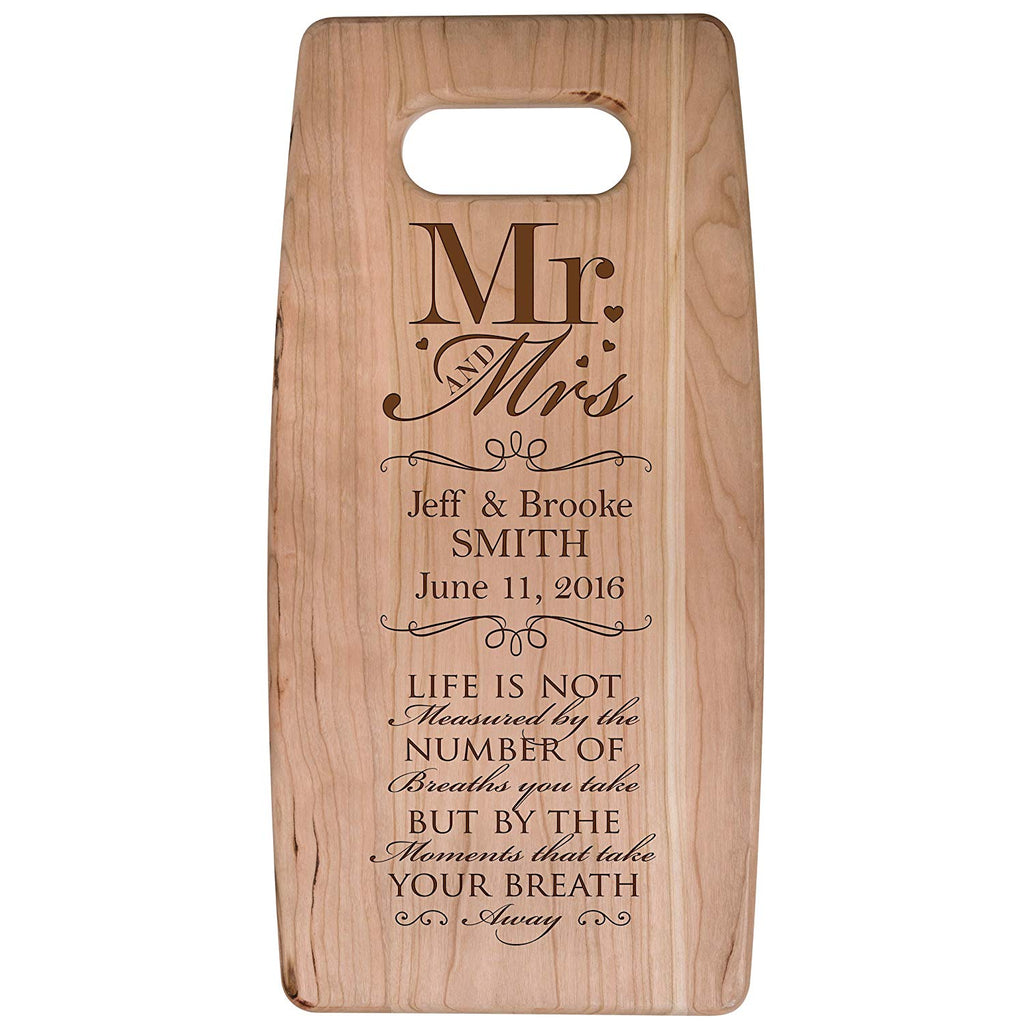 Personalized Engraved Cherry Cutting Board - Life Is Not