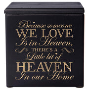 human urn ashes memorial funeral adult child black