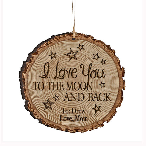 Personalized Valentine's Day Ornaments I Love You