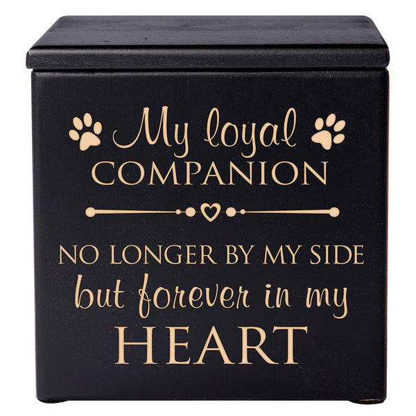 Pet Memorial Cremation Urn - Loyal Companion
