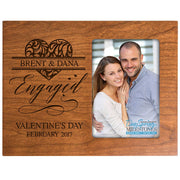 Personalized Valentine's Day Frames - Engaged