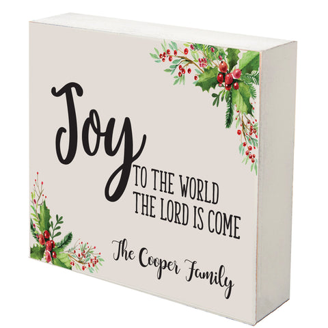 Lifesong Milestones Personalized Merry Christmas Decorating Ideas Shadow Box - Christmas Decoration Gift Ideas 6x6