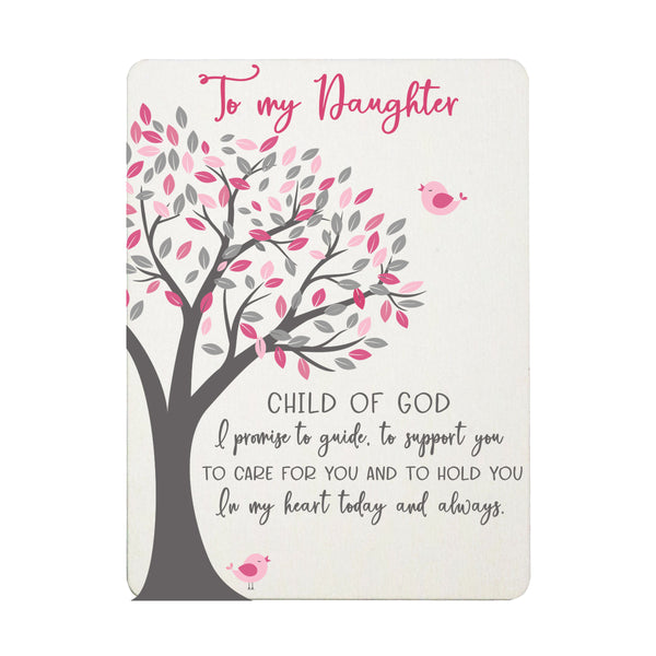 "LifeSong Milestones Newborn Infant Baby Birth Scripture Verse Fridge Magnets For My Daughter, Son, Child, Baby, For Wall Or Refrigerator 3"" x 4"""
