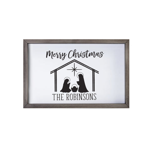 Lifesong Milestones Merry Christmas Decorating Ideas Framed Shadow Box - Christmas Decoration Gift Ideas