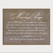 "LifeSong Milestones Digital Wedding Sign For Ceremony And Reception - Marriage Decorations - Gifts For The Couple 12"" x 15"""
