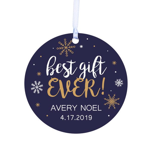 Lifesong Milestones Personalized New Baby Merry Christmas Tree Ornament Decorating Ideas - Christmas Tree Decoration Gift Ideas