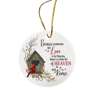 LifeSong Milestones Memorial Remembrance Tree Ornament Bereavement Sympathy Everyday Keepsake - Loss of Loved One Decoration Gift - 2.5""