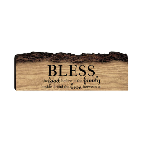 "Lifesong Milestones Home Family Gift Digitally Printed Family A Little Crazy Barky Wood Plaque 16"" x 6"" x 1"" Housewarming Family Wall Decor"
