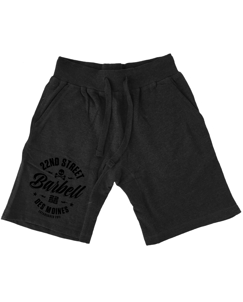 """22ND STREET BARBELL"" Sweat Shorts"