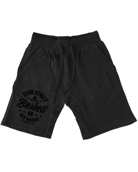 "22BB ""22ND STREET BARBELL"" Sweat Shorts"