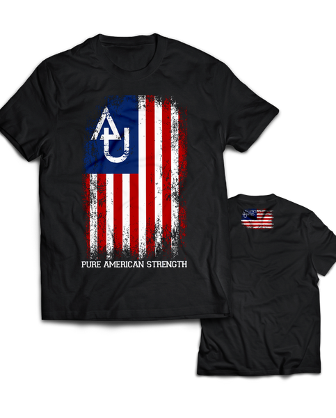 "Athletics United ""AMERICAN STRENGTH"" Tee"