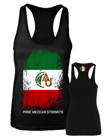"Athletics United "" MEXICAN STRENGTH"" Racerback"