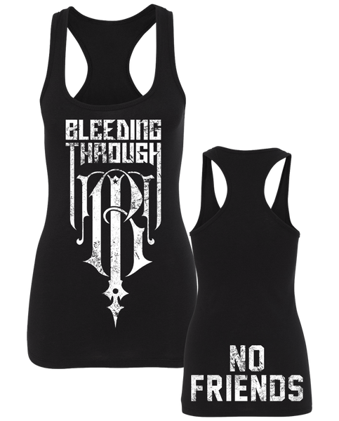 "BT ""NO FRIENDS"" Racerback"