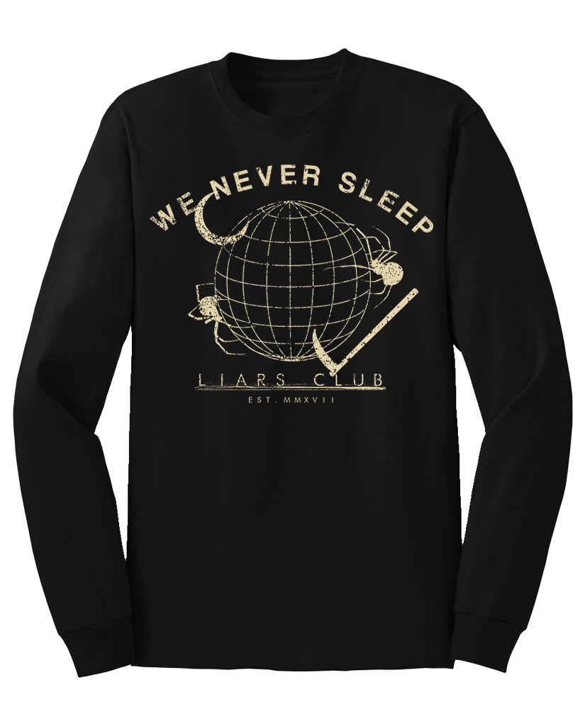 "Liars Club ""GLOBE"" Long Sleeve Tee"
