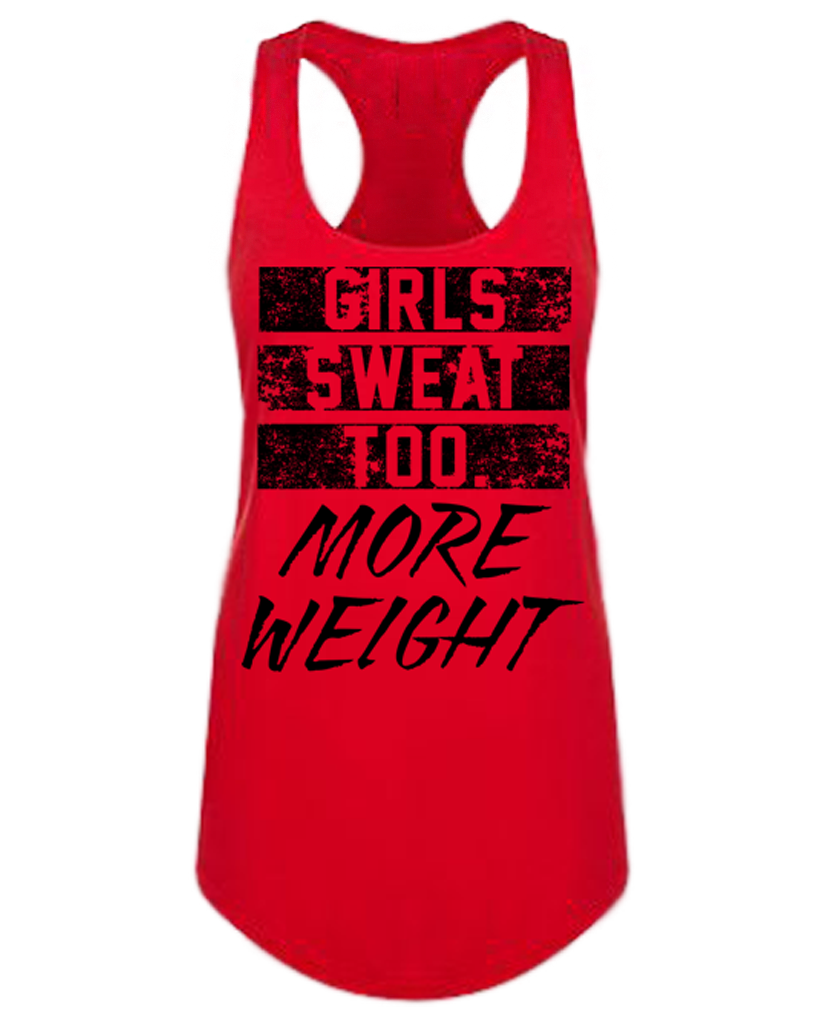 "MW ""GIRLS SWEAT TOO"" Racerback"