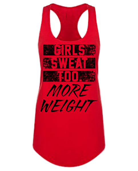 """MW GIRLS SWEAT TOO"" Racerback"