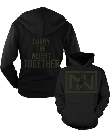 "MW ""WE CARRY THE WEIGHT"" Pullover Hoodie"