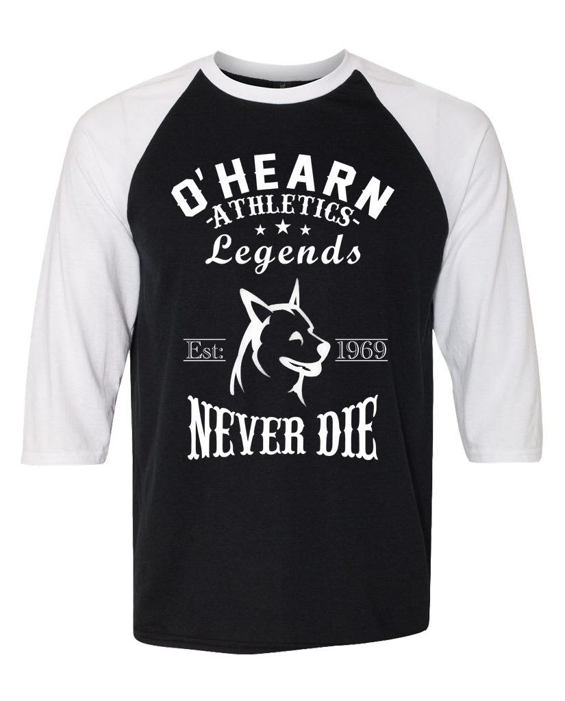 "OHEARN ""ATHLETICS 1983"" Raglan"